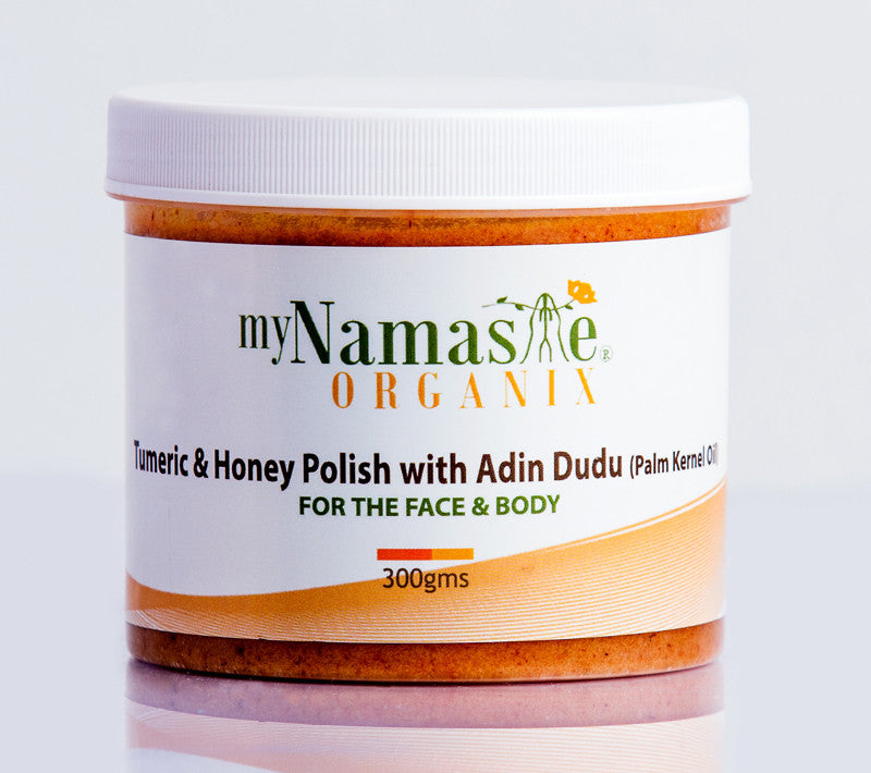 Turmeric and Honey body Polish with Adin Dudu - Namaste Organics
