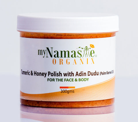 Turmeric and Honey body Polish with Adin Dudu