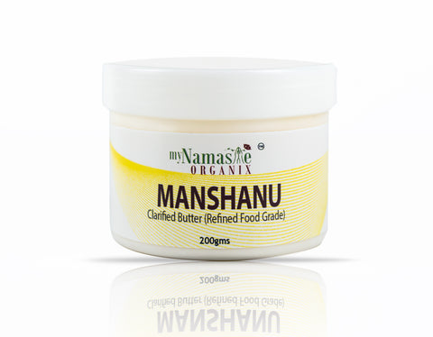 Manshanu-Clarified Butter (Ghee)-Food grade