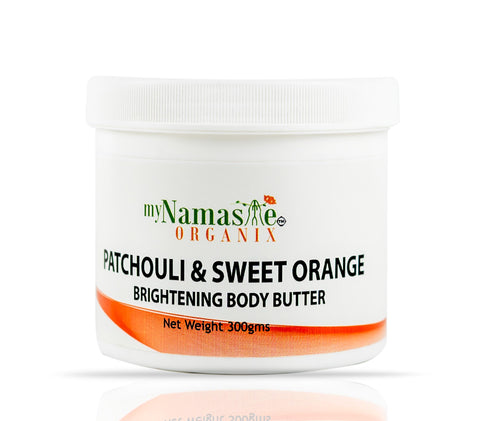 Patchouli and Sweet Orange Brightening Body Butter...