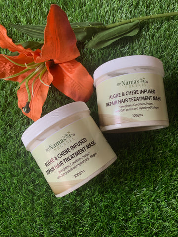 Algae and Chebe Hair repair treatment Mask