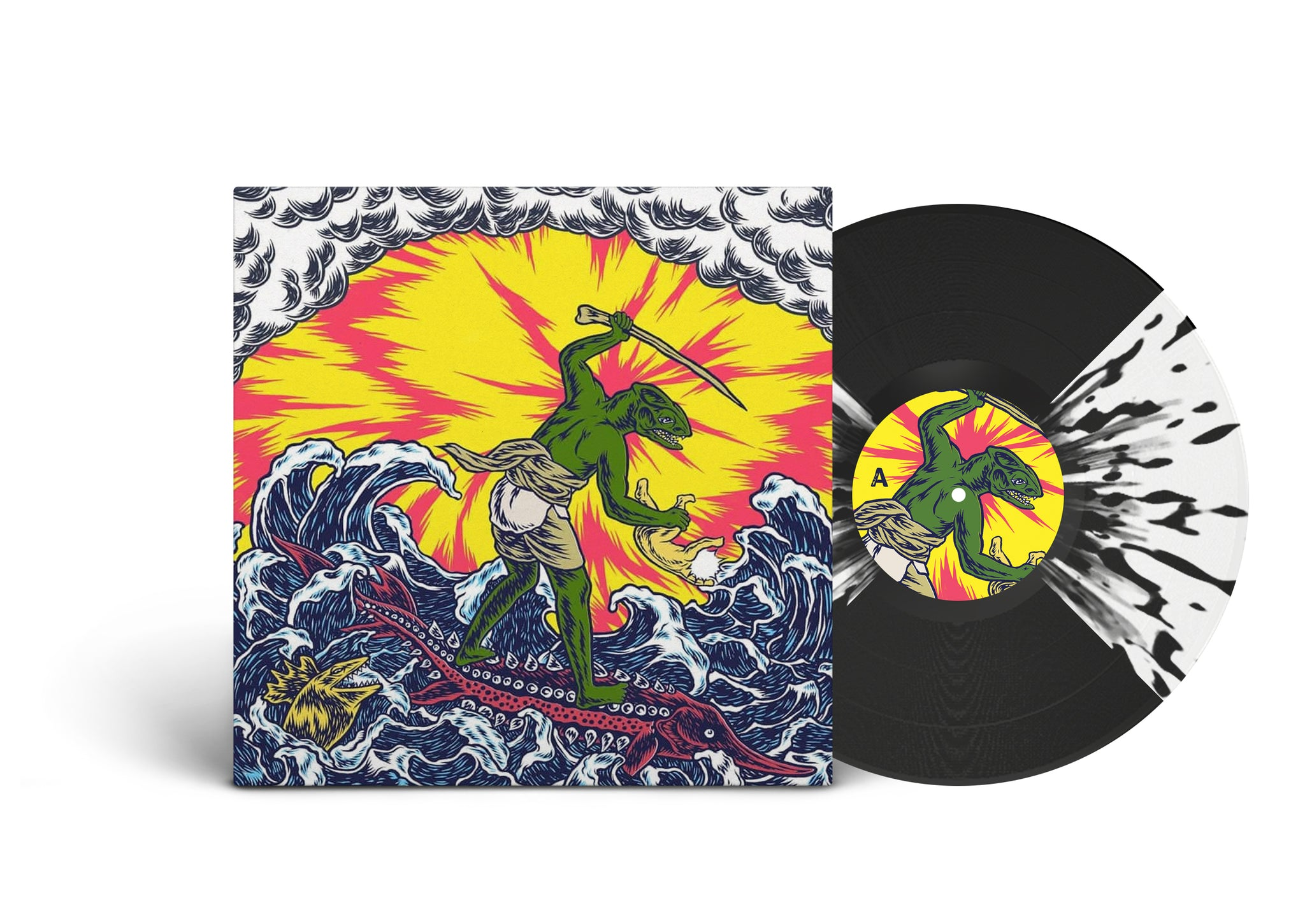 Teenage Gizzard Ants and Bats LP (Bootleg by Needlejuice Records)