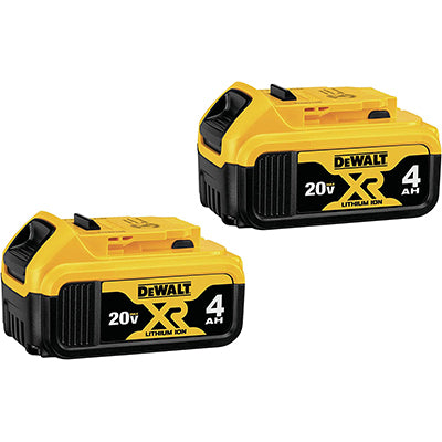 DeWALT 20V 4.0 AH Batteries