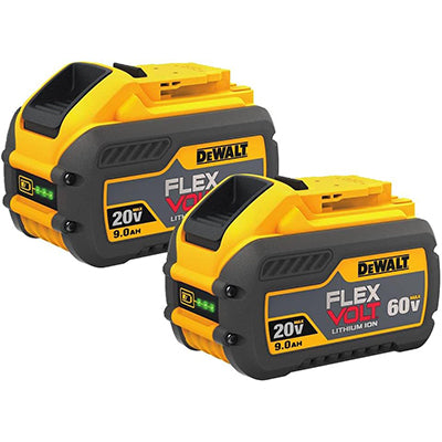 DeWALT 20V/60V FlexVolt 9.0 AH Batteries
