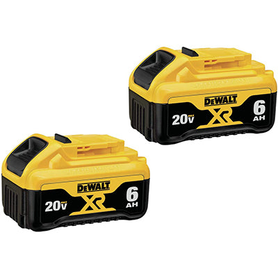 DeWALT 20V 6.0 AH Batteries
