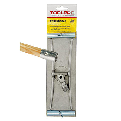 ToolPro Pole Sander With Wood Handle