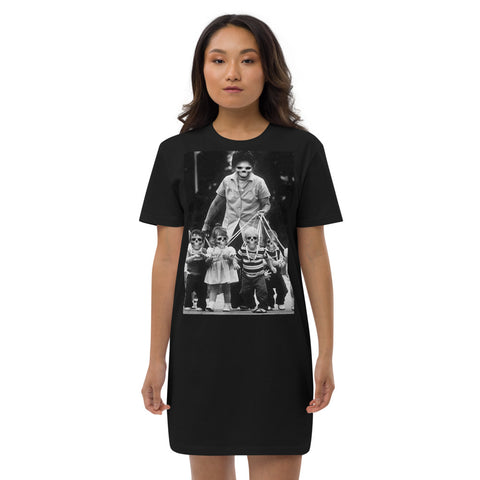 BLACK CULT SOCIETY Organic cotton t-shirt dress