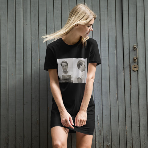 BLACK CULT SOCIETY TED BUNDY COLLECTION Organic cotton t-shirt dress