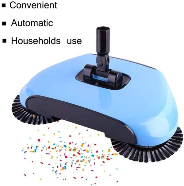Sweep Drag All-in-One Household Hand Push Rotating Sweeping Broom