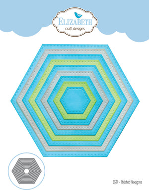 Stitched Hexagons