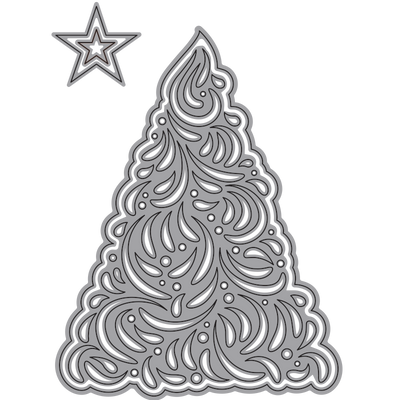 elegant christmas tree elizabeth craft designs wholesale - Elegant Christmas