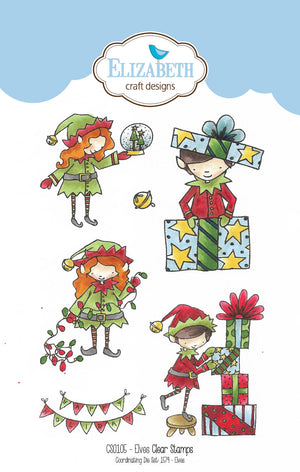 Elves stamp set