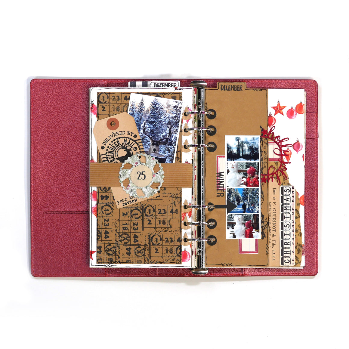 Planner 6 - Red Rose