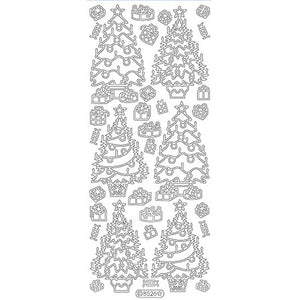Decorated Christmas Trees (sku 8526)