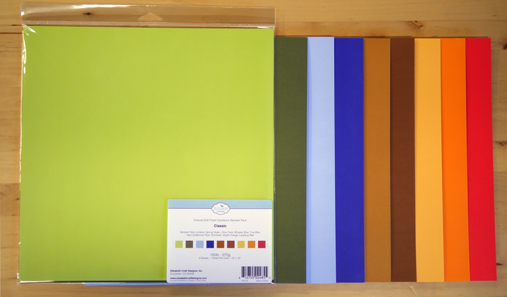 Soft Finish Cardstock Sampler Set 4 Classic