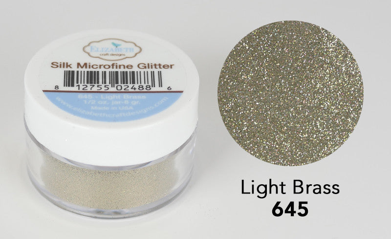 Light Brass - Silk Microfine Glitter