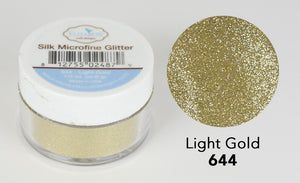 Light Gold - Silk Microfine Glitter