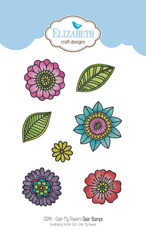 Stamp set - Color My Flowers