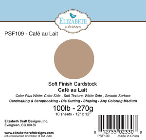 Soft Finish Cardstock, Cafe au Lait
