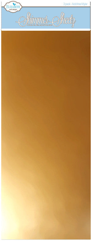 Gold Metallic - 3 Pack