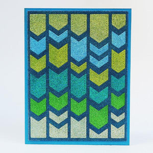 Chevron Background - Die - ElizabethCraftDesigns.com