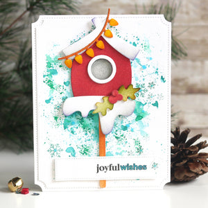 Holiday Bird House