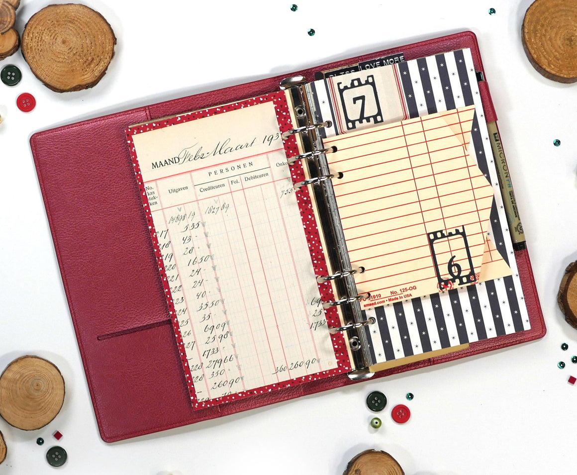 Planner Essentials 17 - Filmstrip Numbers