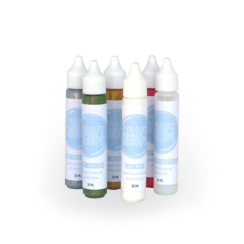 Craft Drops set of 6 colors