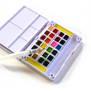 Watercolor Palette, 24 colors