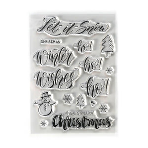 Brush Lettering winter buy it all