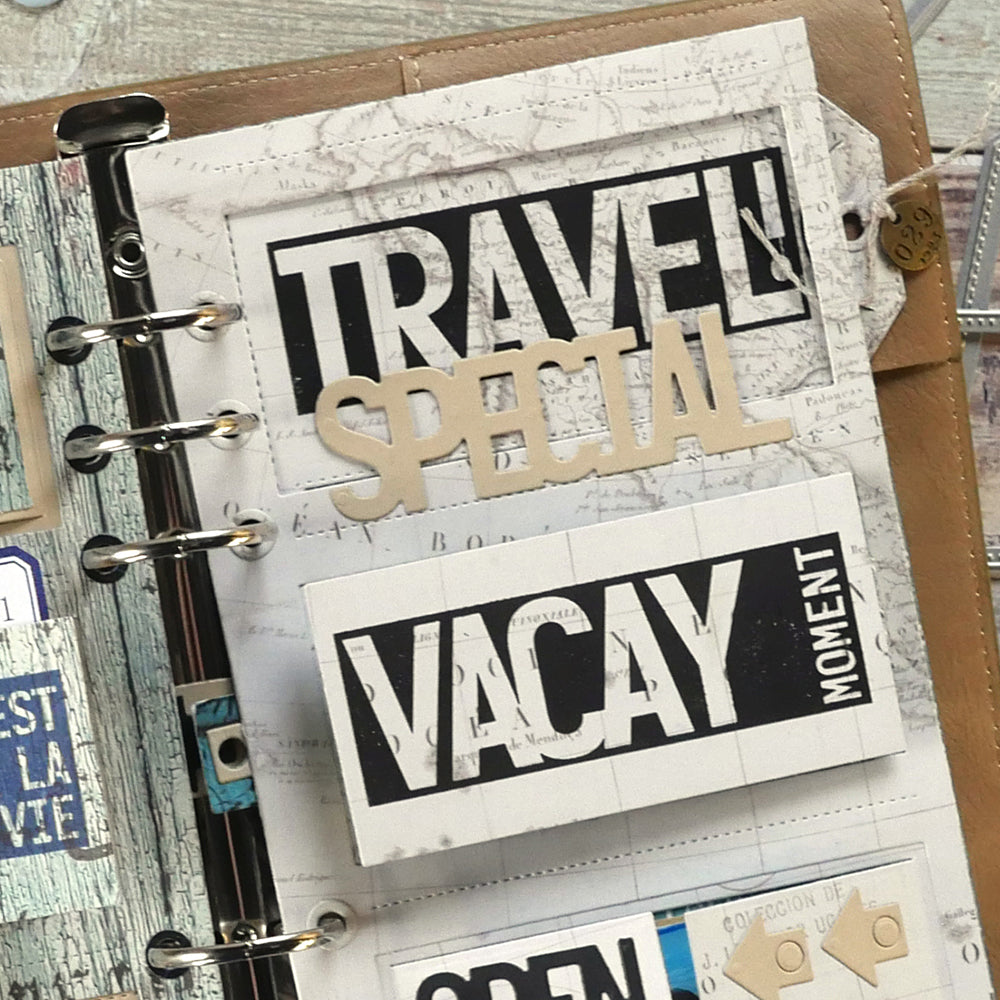 Block Words - Travel