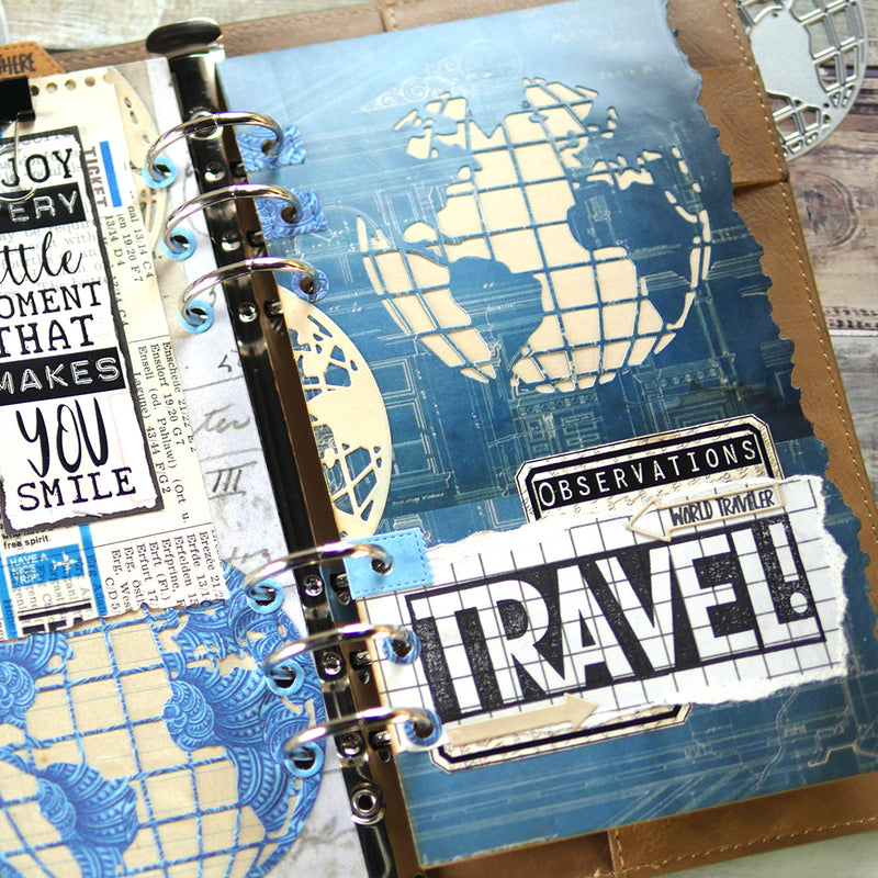 Planner Essentials 28 - Globe