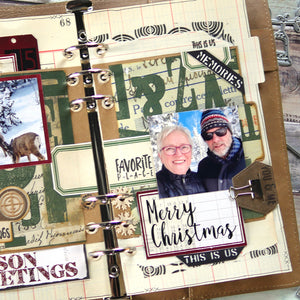 Planner Essentials 35 - Holiday Tab Pages