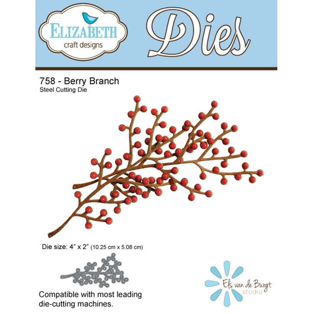 Berry Branch - ElizabethCraftDesigns.com