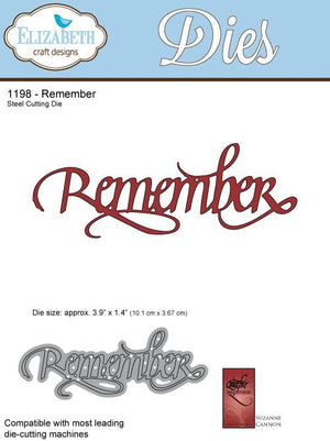 Remember - Die - ElizabethCraftDesigns.com