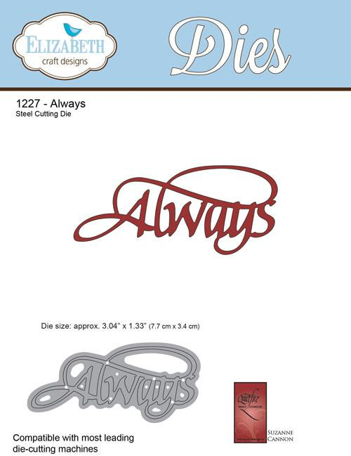 Always - Die - ElizabethCraftDesigns.com