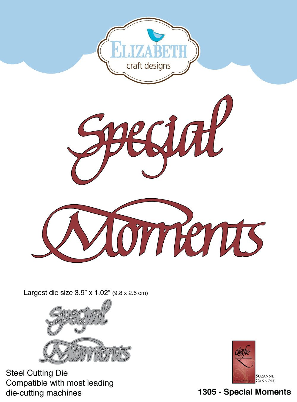 Special Moments - Die - ElizabethCraftDesigns.com