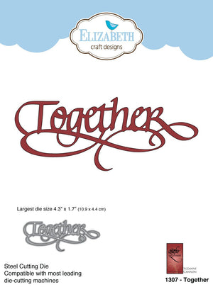 Together - Die - ElizabethCraftDesigns.com