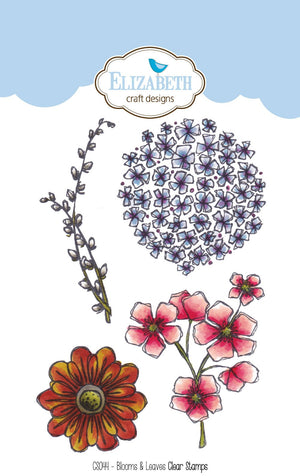 Blooms & Leaves - Clear Stamps