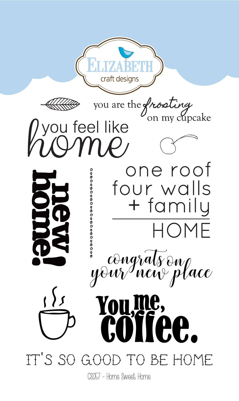 Home Sweet Home - Clear Stamps
