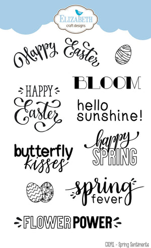 Stamp set - Spring Sentiments