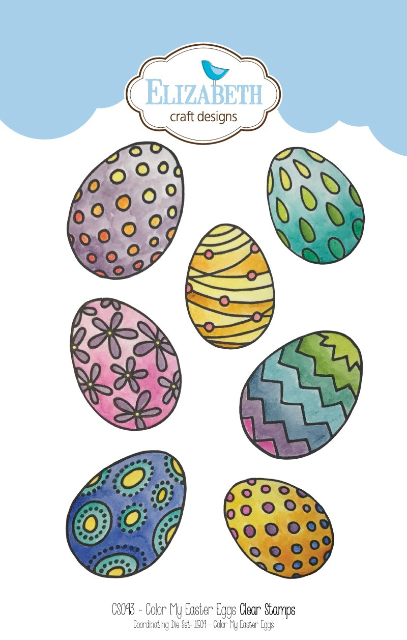 Stamp set - Color My Easter Eggs
