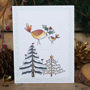 Holiday Trees & Ornaments - Clear Stamps
