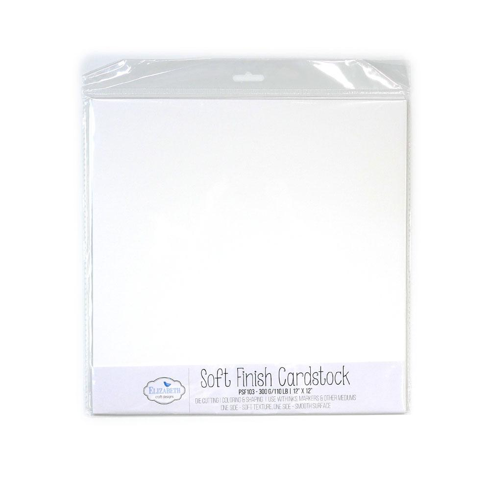 "Soft Finish Cardstock 12"" x 12"" -  300G/110LB - 10 Pack"