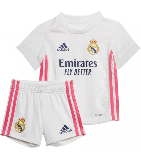 Youth Real Madrid 20/21 Home Mini Kit