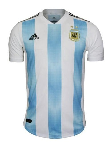 Men's Argentina 18/19 Home Authentic Jersey