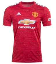 Load image into Gallery viewer, Men's Manchester United 20/21 Home Replica Jersey
