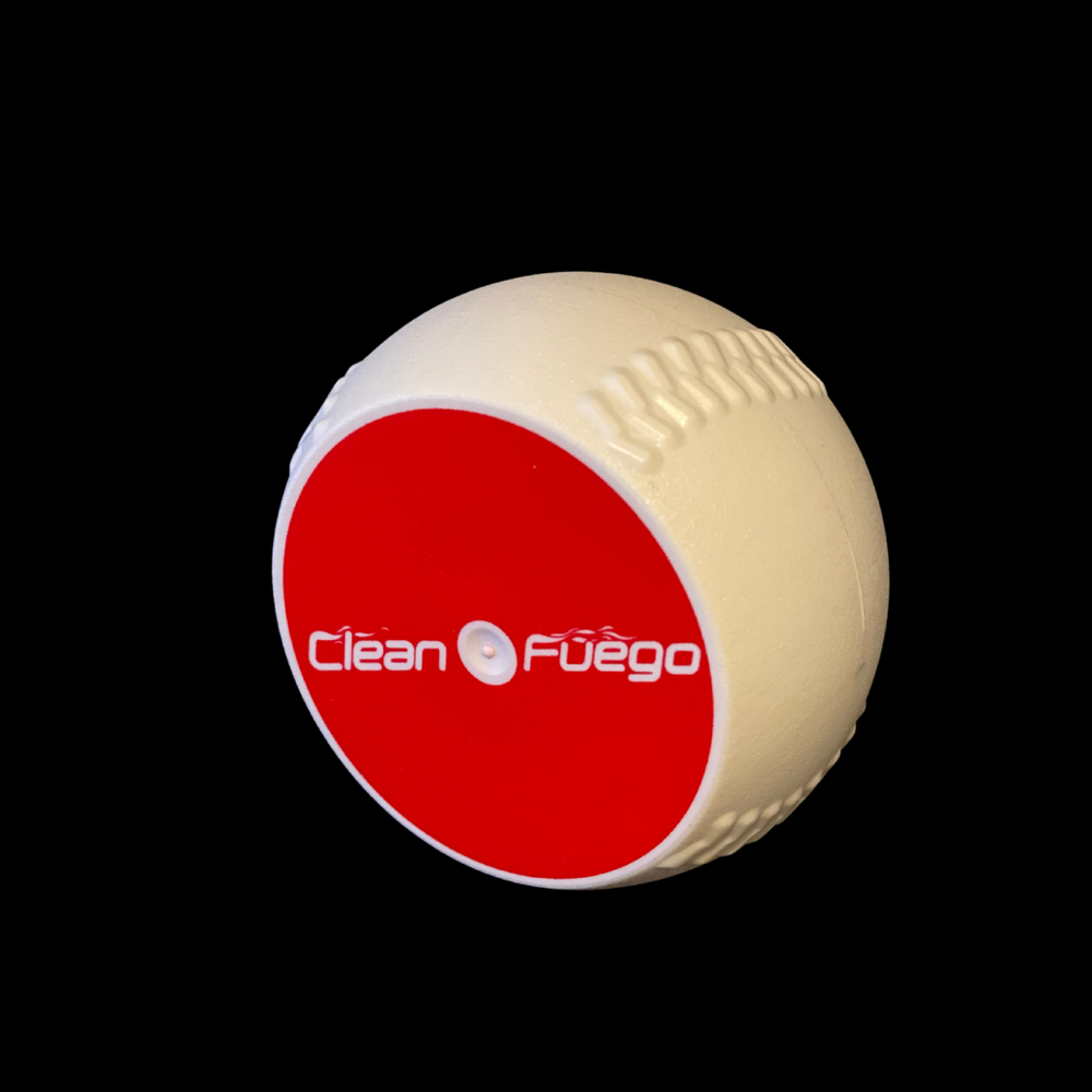 Regulation CleanFuego plastic baseball throwing training aid