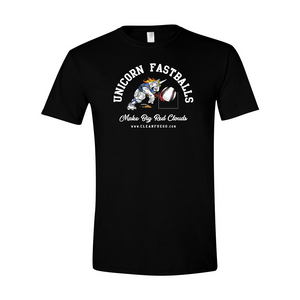 Unicorn Fastball T-shirt - THROWING