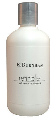 Retinol Body Lotion with Vitamin E and Chamomile.